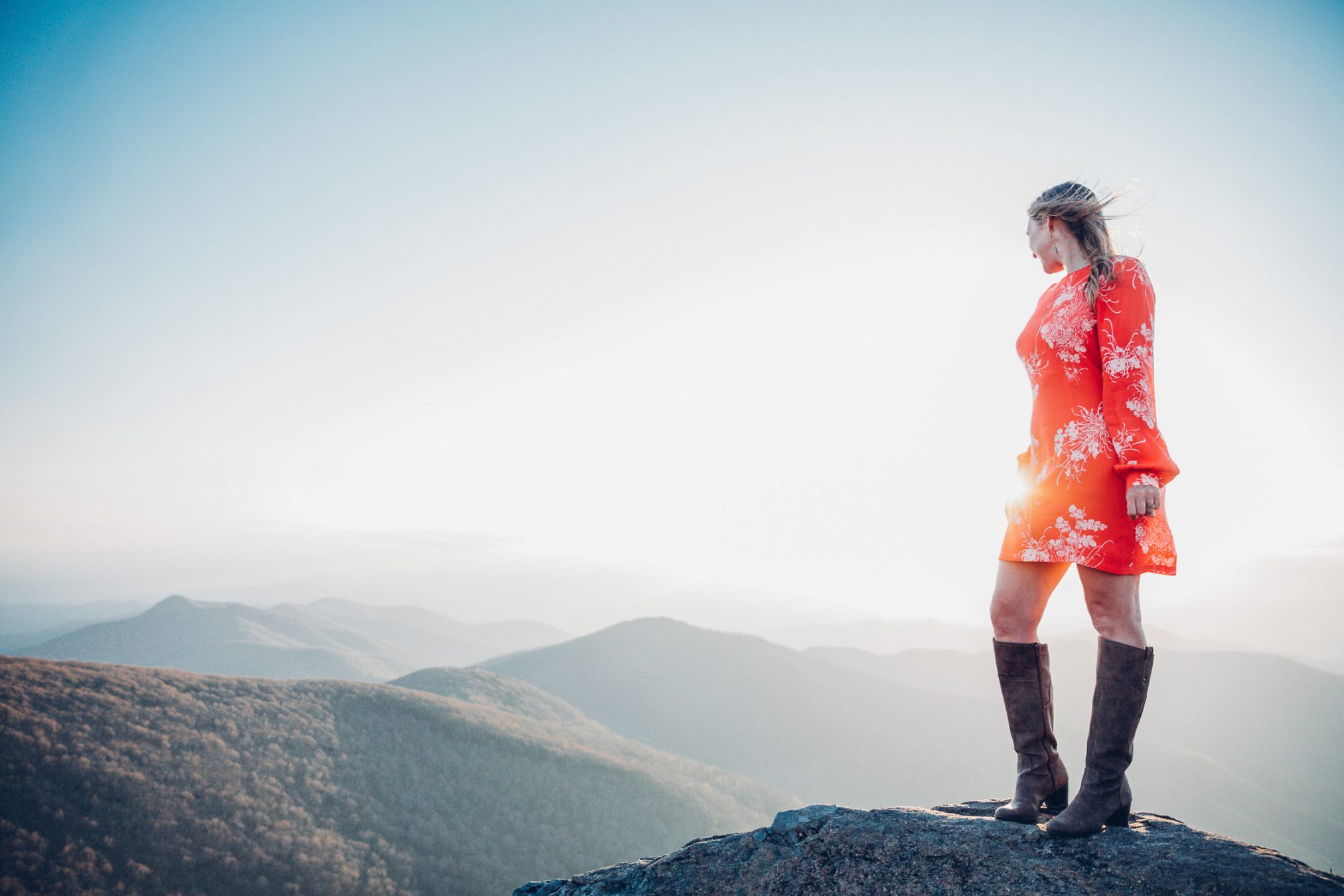 Asheville Mountaintop Portrait Session
