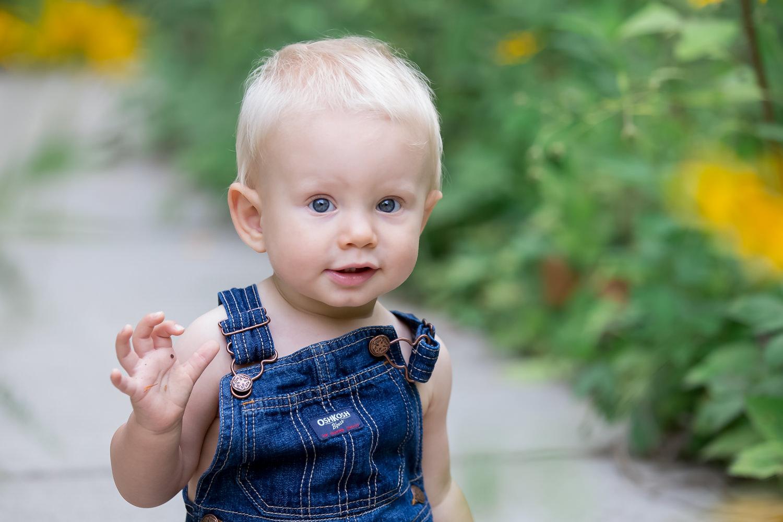 Asheville Botanical Gardens Family Photography